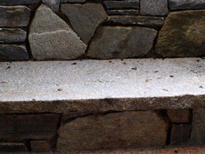 Naturstein Rechenauer Garten Wasser Brunnen Bank Gartendekoration Einzelstück Terrasse Einfassung Gneis Granit Kalkstein Haus