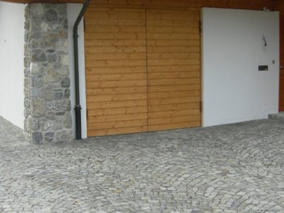 Naturstein Rechenauer Garten Mauer Dekoration Terrasse Brunnentrog Bank Einfassung Gneis Granit Kalkstein Haus Eingang Weg Zufahrt Wasser