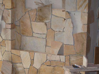 Naturstein Rechenauer @ work bei der Arbeit Terrasse Garten Boden Wand Mauer Haus Küche Bad Einfassung Eingang Granit Gneis Kalkstein